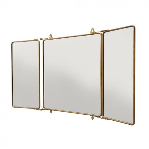 Image gallery tri fold mirror for Tri fold mirror