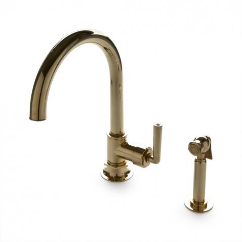 henry one hole gooseneck kitchen faucet metal lever of kitchen delta touch faucet waterworks kitchen faucet moen kitchen