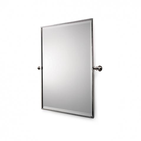 Wall mounted tilting bathroom mirrors